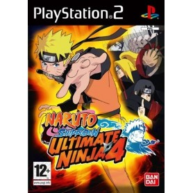 Naruto Shippuden: Ultimate Ninja 4 (pal/uk) PS2