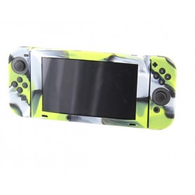 Nintendo Switch Console Silicone Case (Camouflage Green)