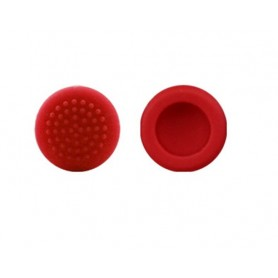 Nintendo Switch Joystick Non-slip short Slilicon Caps 2PCS (Red)