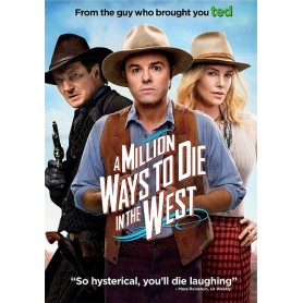 A Million Ways to Die in the West (solo disco) DVD USATO