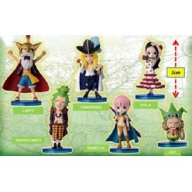 Banpresto - Figurine One Piece 7 cm Assortment (Pz singolo)