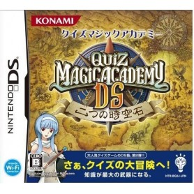 Quiz Magic Academy Futatsu no Jikuu Koku DS Jap USATO