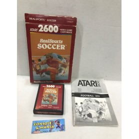REAL SPORTS SOCCER ATARI 2600 PAL USATO