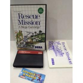 RESCUE MISSION SEGA M.SYSTEM PAL USATO