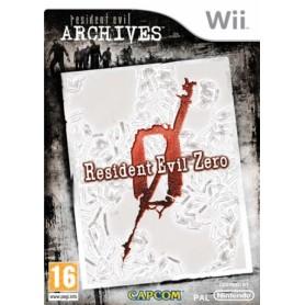 RESIDENT EVIL ZERO Archives WII
