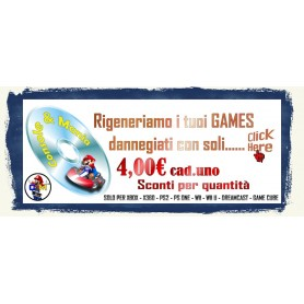 RIGENERA GAMES CD E DVD PER 1 PZ