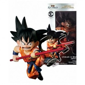 Banpresto Dragonball - Scultures Young Son Goku - Special Metalic