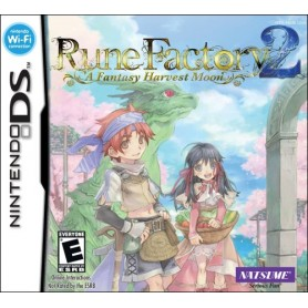 Rune Factory 2 a fantasy harvest moon DS