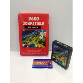SEA HOUCK ATARI 2600 compatibile PAL USATO