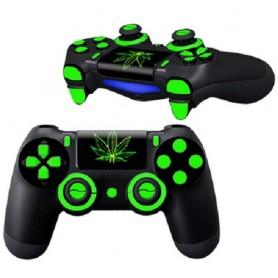 Set di adesivi per controller Playstation 4 (Verde)