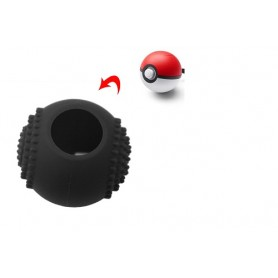 Silicone Case Black - pokeball Silicone Switch