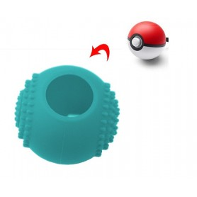 Silicone Case Blue- pokeball Silicone Switch
