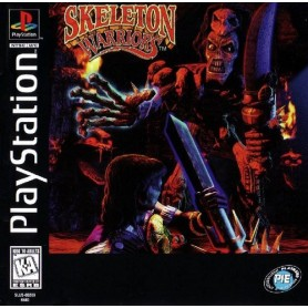 Skeleton Warriors (solo disco) PSX USATO