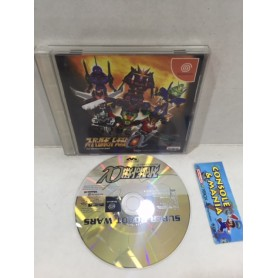 SUPER ROBOT WARS Dreamcast jap -USATO-