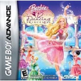 Barbie In The 12 Dancing Princ.(solo card) Nintendo GBA USATO