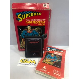 SUPERMAN CX 2631 PAL ATARI 2600 USATO