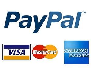 Acquista in sicurezza con carta di credito/PayPal/PostePay